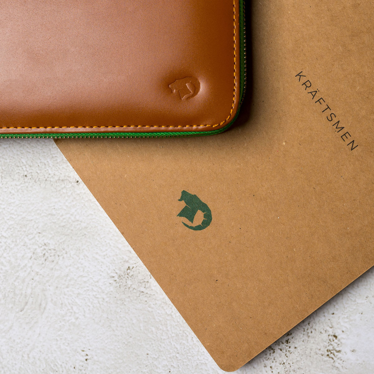 Leather Portfolio and Craft Notebook by Kraftsmen